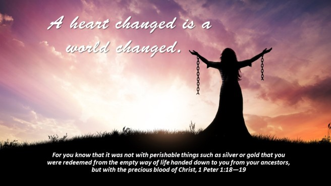 heart changed