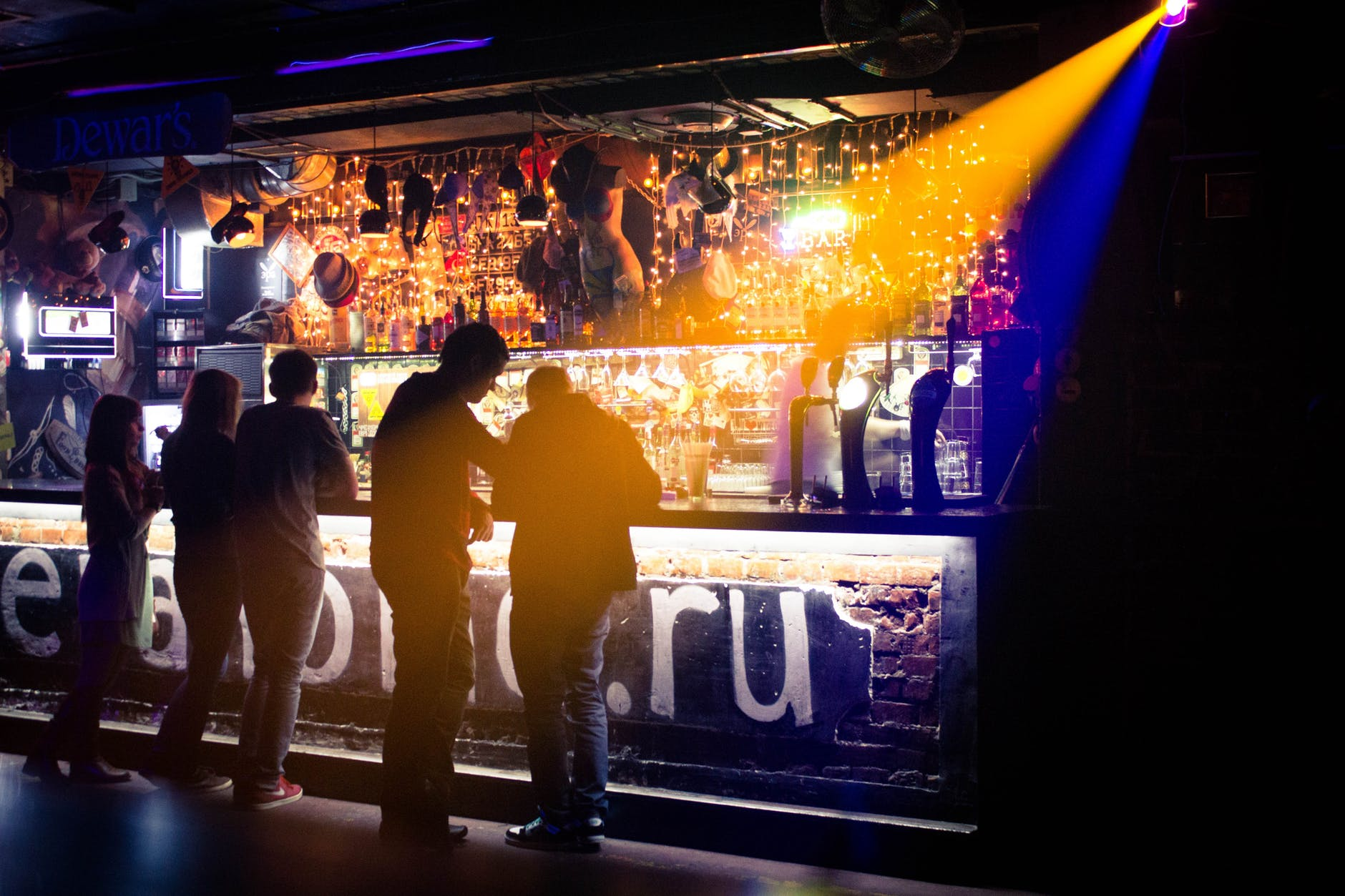 bar club nightlife party