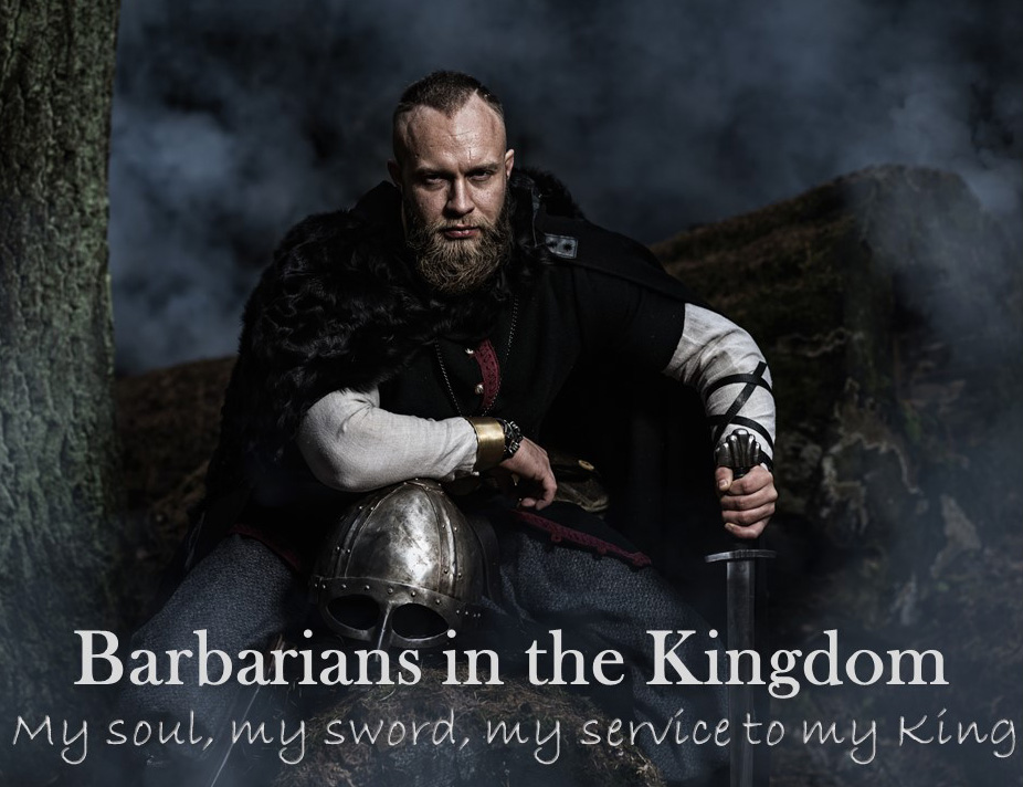 Barbarian man ad