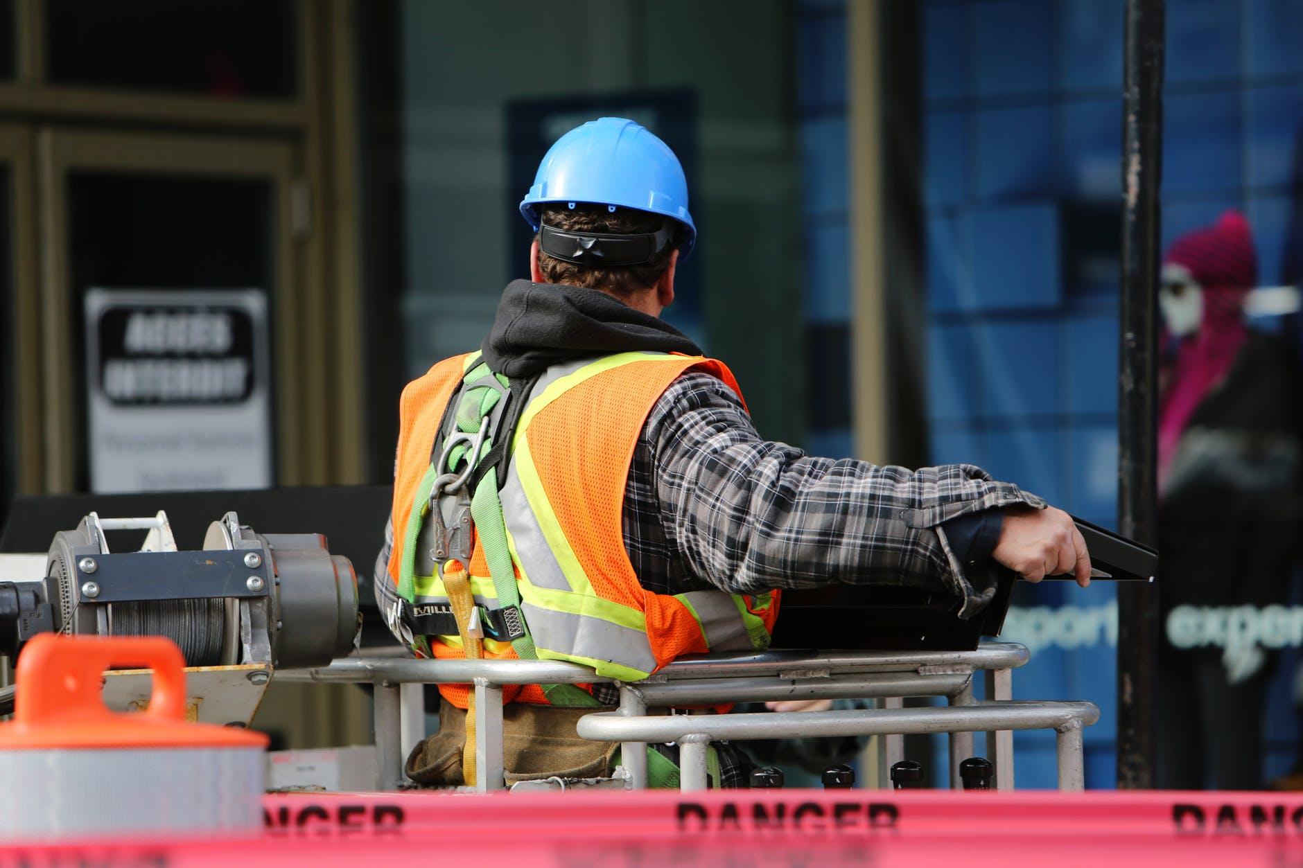 construction worker safety danger