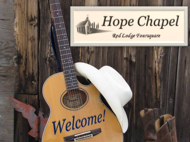 Hope Chapel welcome
