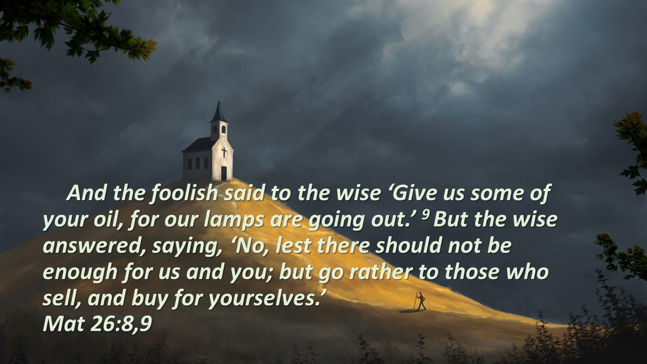 foolish virgins