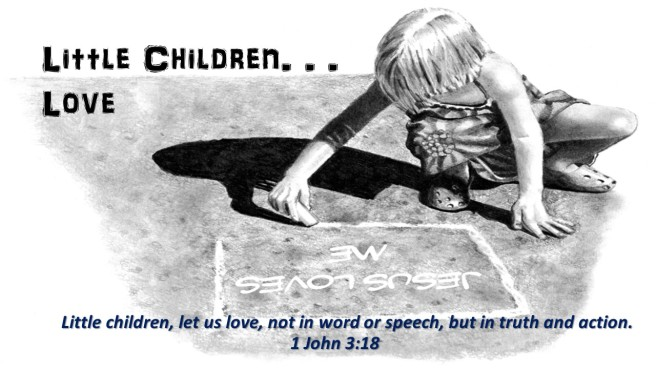 little children love 1 John