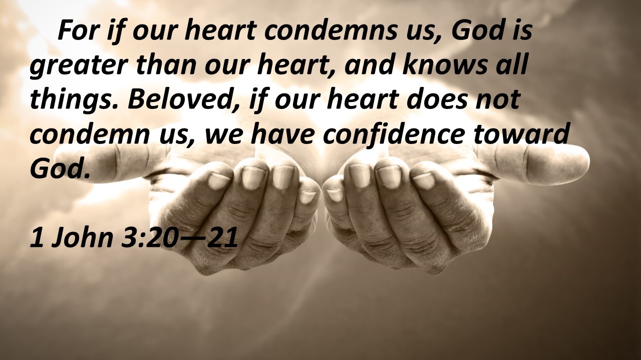 Hearts conmdemn us hands