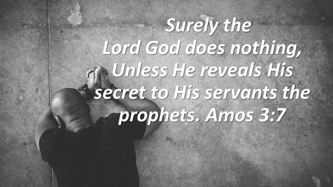 Servants the prophets