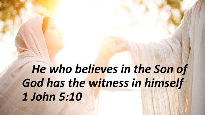 witness Jesus woman