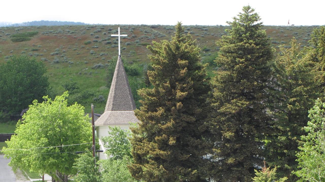 church cross Red Lodge