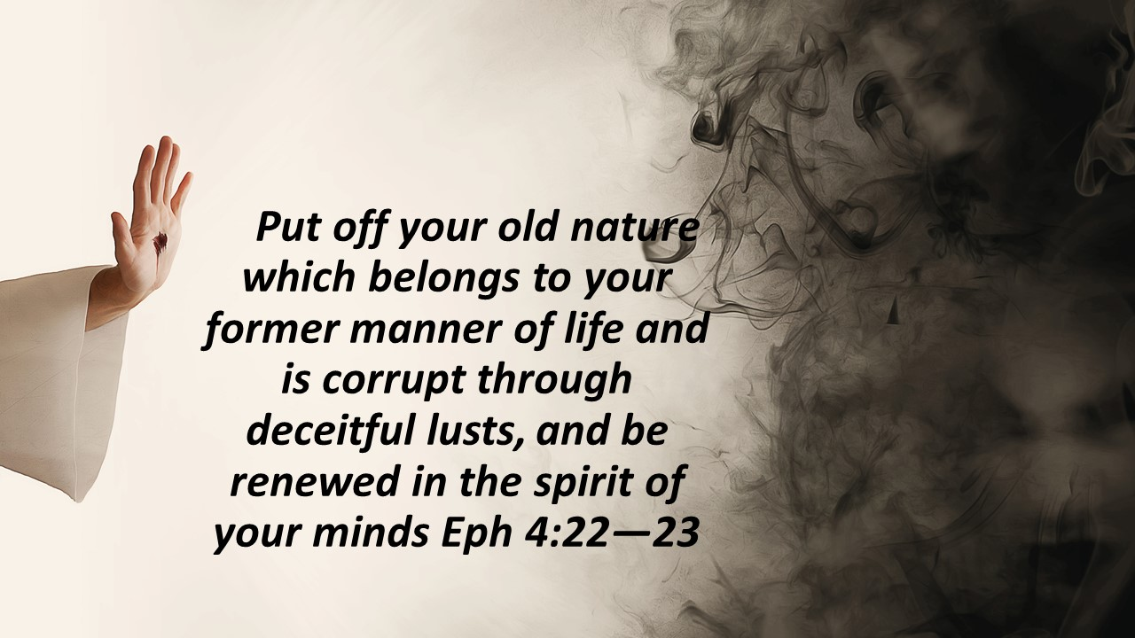 put off the old nature